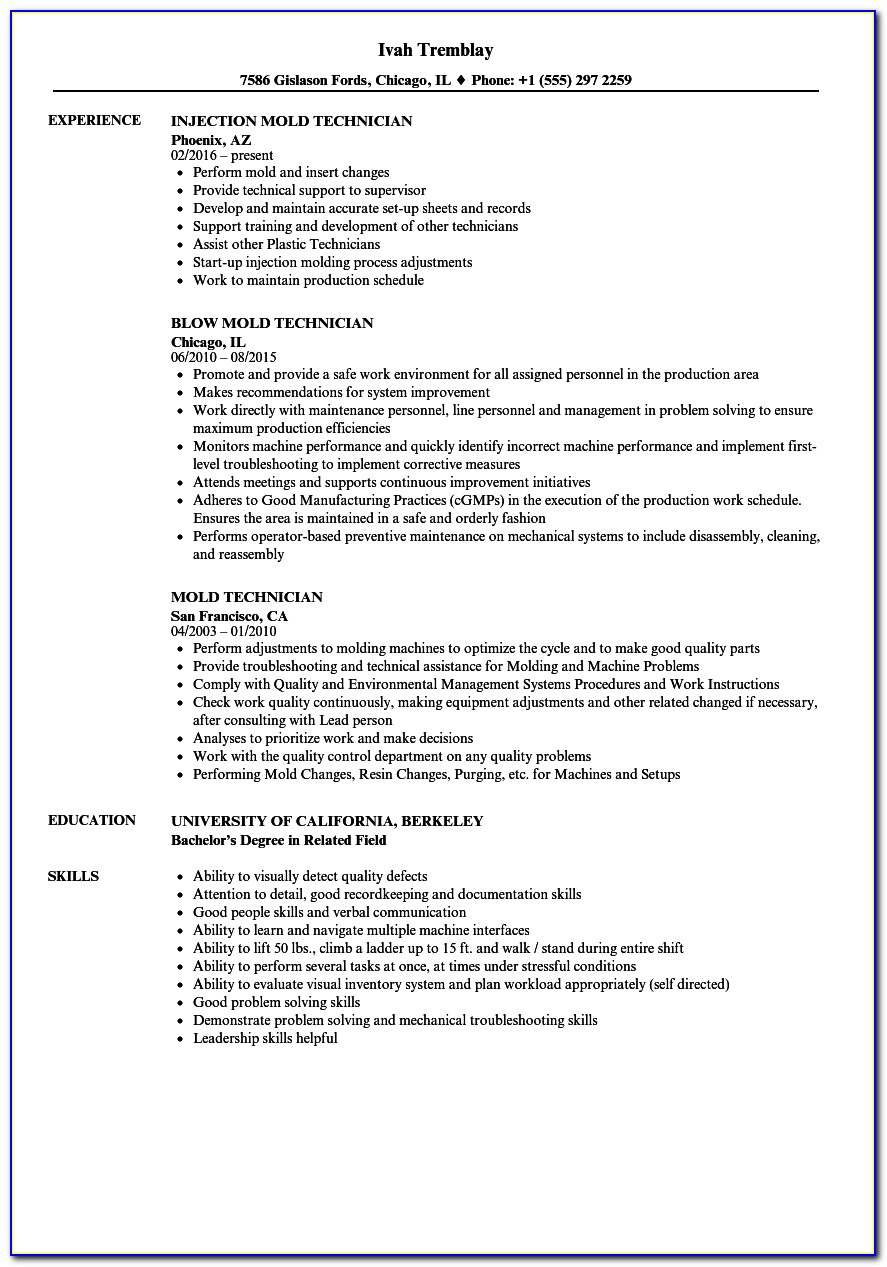 injection moulding process engineer resume vincegray2014 molding supervisor genius Resume Injection Molding Supervisor Resume