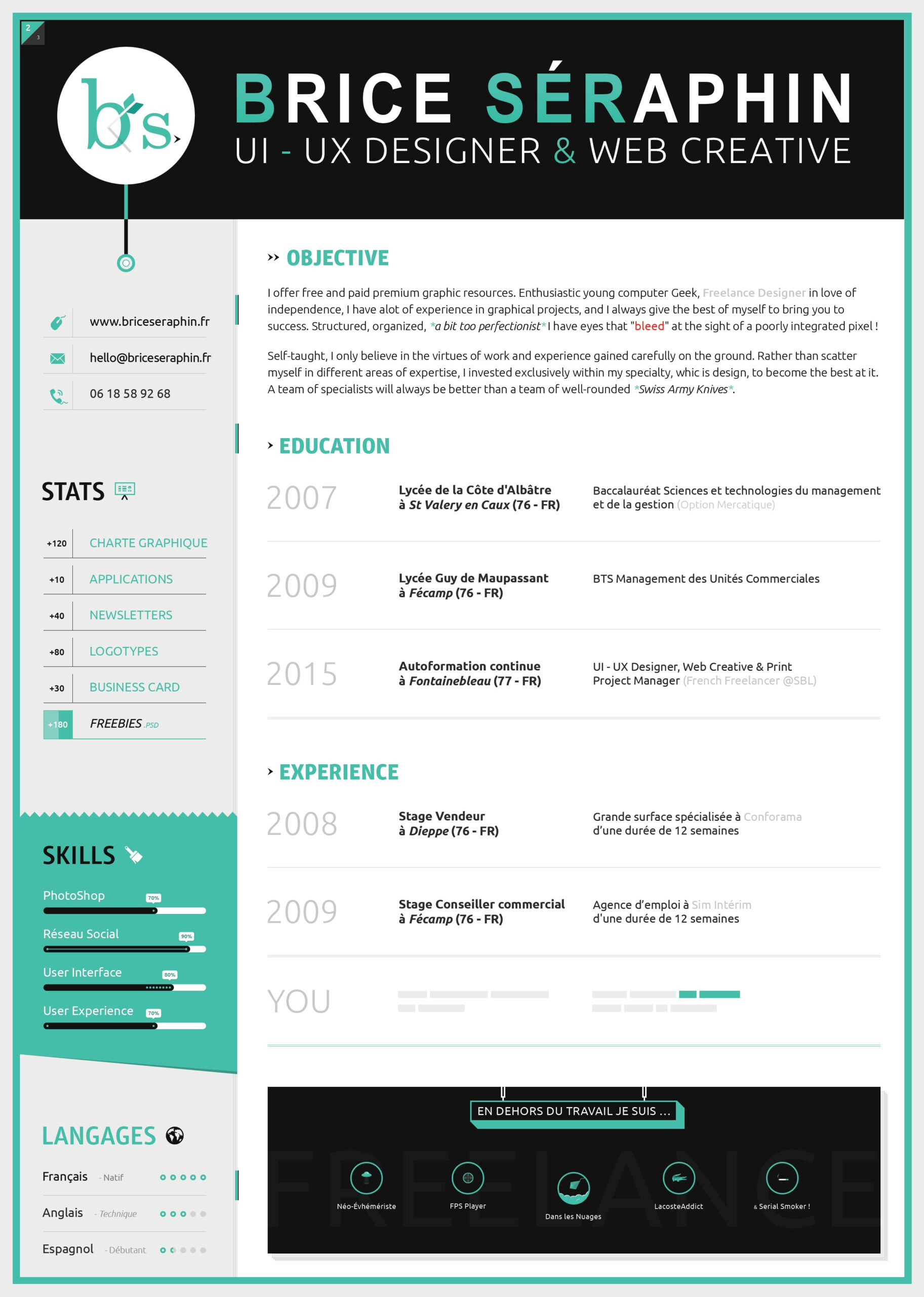 inspiring resume designs to learn from canva well designed examples sample templates Resume Well Designed Resume Examples