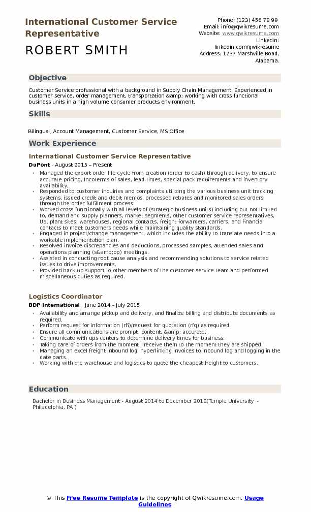 international customer service representative resume samples qwikresume email pdf Resume Email Customer Service Resume