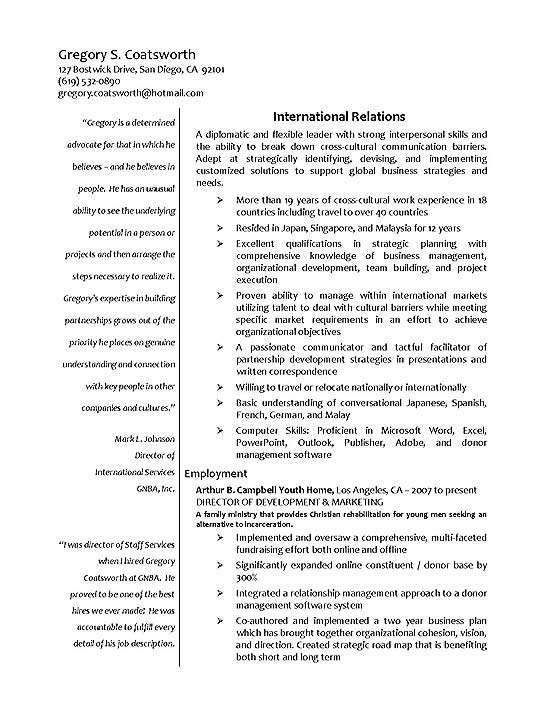 international relations resume example trade specialist sample exbc18a aps examples food Resume International Trade Specialist Resume Sample
