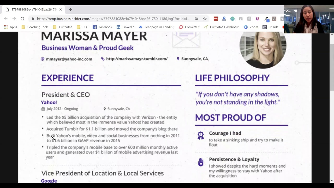 is marissa mayer resume impressive cultivitae cultivate your life and career format Resume Marissa Mayer Resume Format