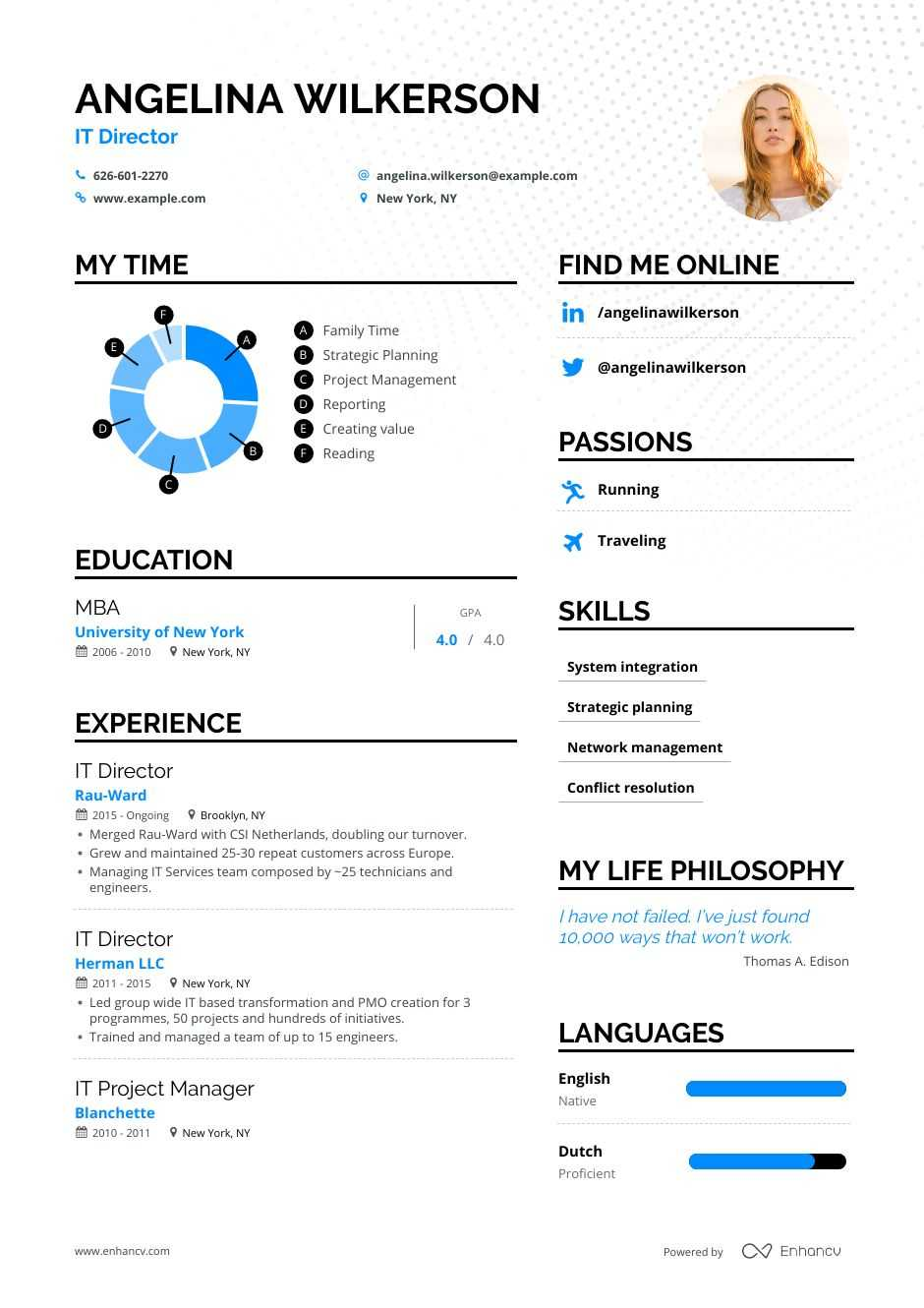 it director resume examples do and don ts for enhancv level mechanical aptitude freelance Resume Director Level Resume Examples