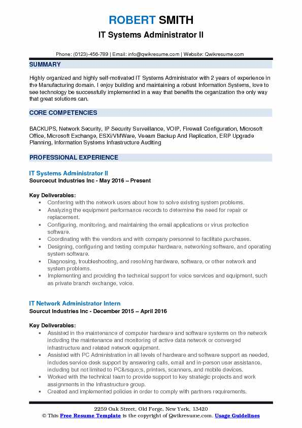it systems administrator resume samples qwikresume symantec endpoint protection pdf best Resume Symantec Endpoint Protection Administrator Resume