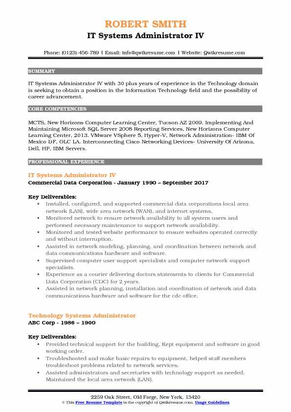 it systems administrator resume samples qwikresume vmware responsibilities pdf including Resume Vmware Administrator Resume Responsibilities