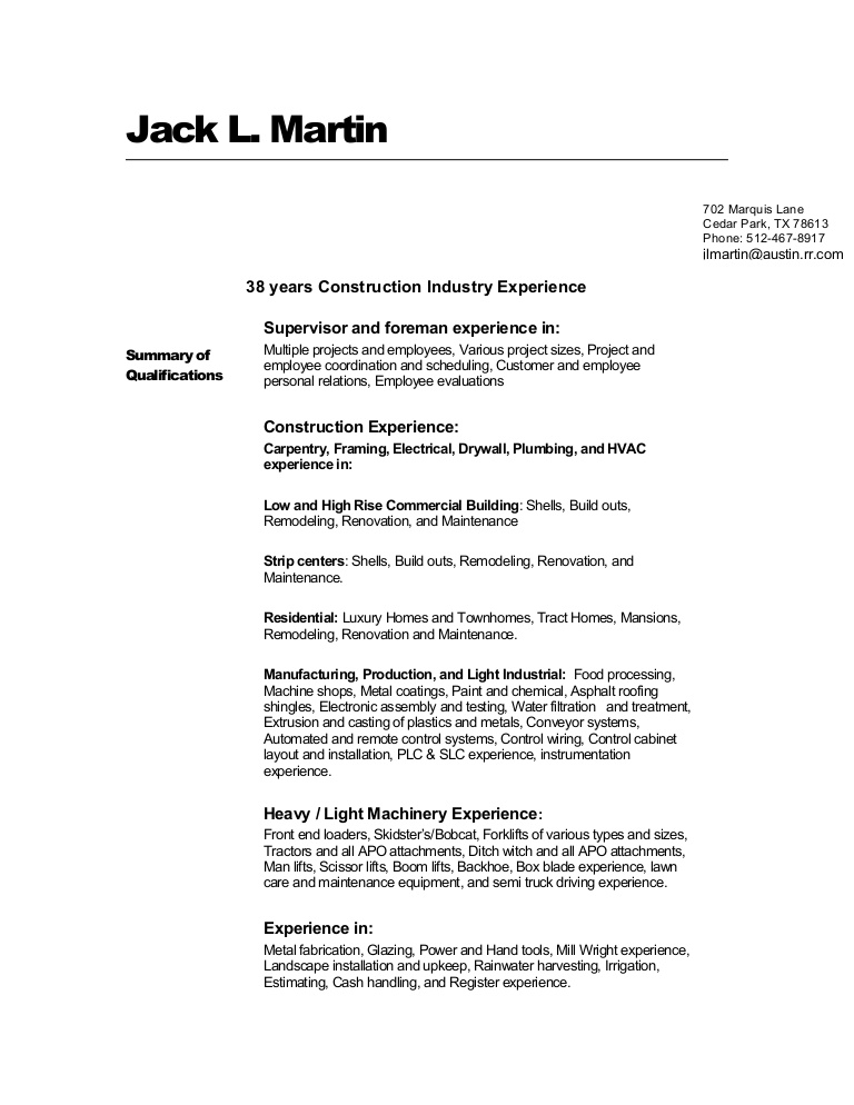 jacks construction resume industry conversion gate02 thumbnail healthcare administration Resume Construction Industry Resume
