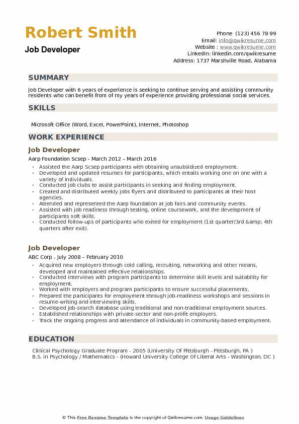 job developer resume samples qwikresume summary on for any pdf law school template Resume Summary On A Resume For Any Job