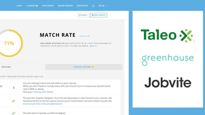 jobscan tutorial your resume matches this job printer technician customer service Resume Your Resume Matches This Job