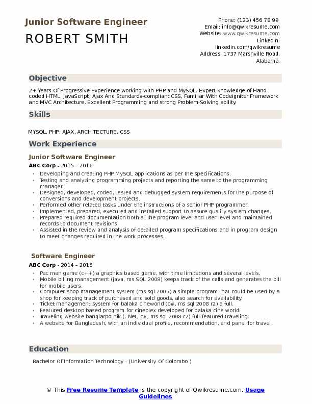 junior software engineer resume samples qwikresume developer format pdf cineplex child Resume Software Developer Resume Format