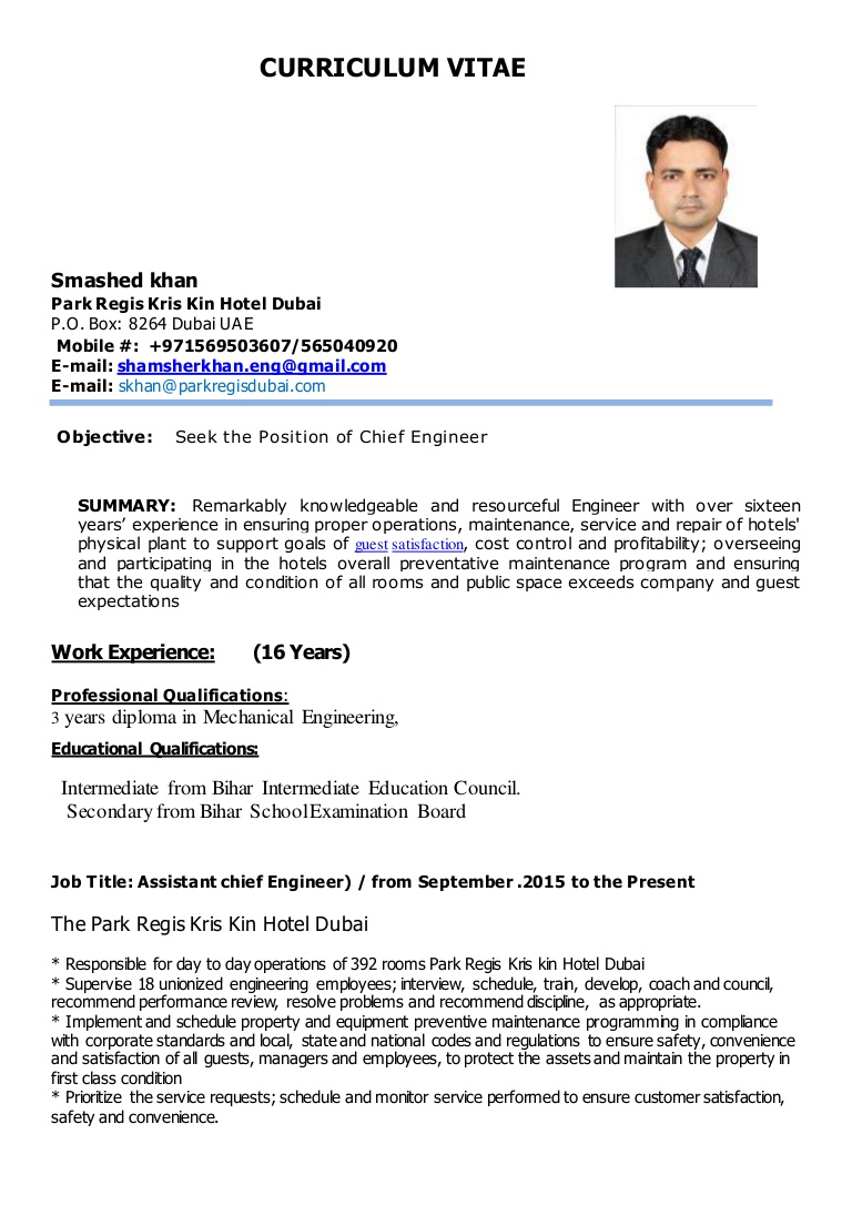 khan for chief engineer marine resume sample thumbnail process oil and gas human Resume Marine Chief Engineer Resume Sample