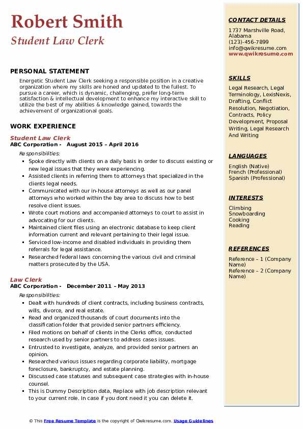 law clerk resume samples qwikresume job description pdf abiword template dos and don ts Resume Law Clerk Job Description Resume