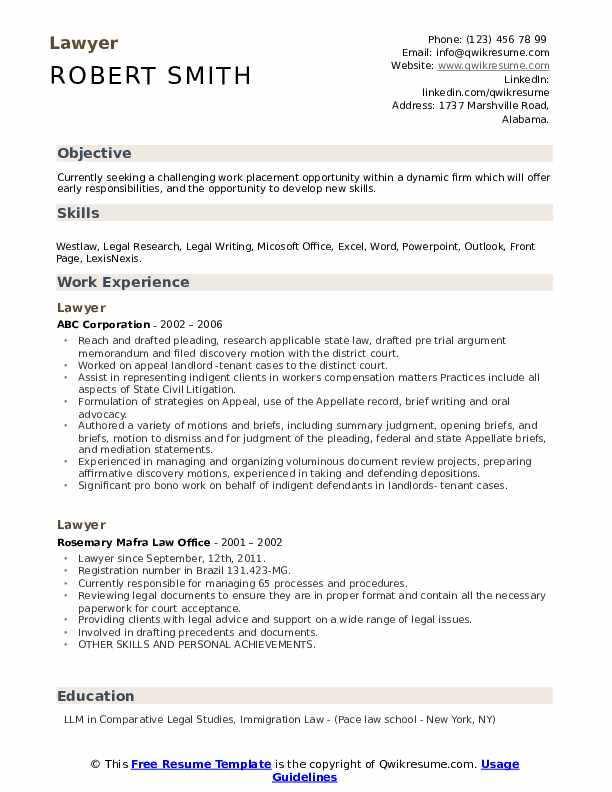 lawyer resume samples qwikresume experienced attorney pdf grad school help zety reviews Resume Experienced Attorney Resume Samples