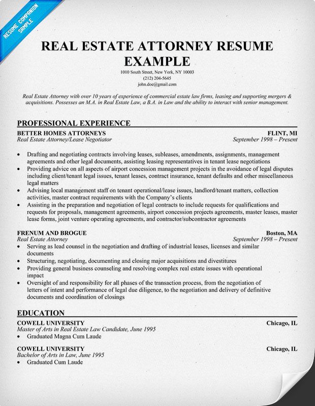 legal resume writing tips examples architect sample format estate free for teacher Resume Real Estate Resume Examples Free
