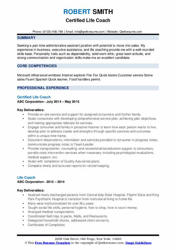 life coach resume samples qwikresume personality traits for pdf ppc expert objective Resume Personality Traits For Resume
