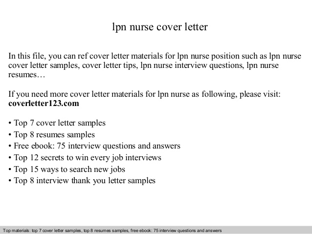 lpn nurse cover letter resume examples types of qualifications for companion login Resume Lpn Resume Cover Letter Examples