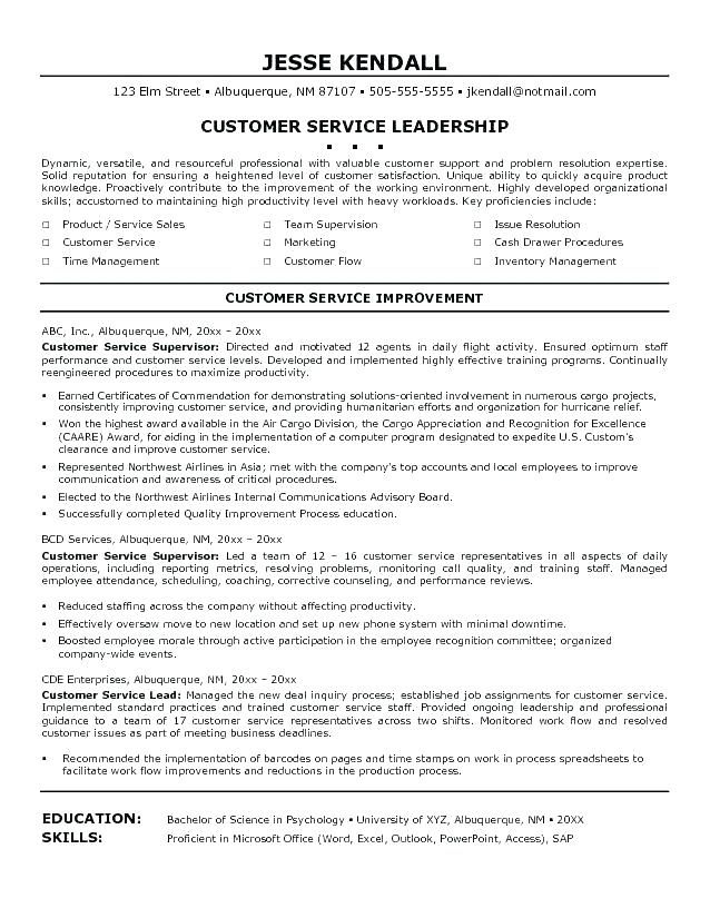 luxury stock of call center supervisor resume objective examples check more at htt Resume Customer Service Objective Statement For Resume Example