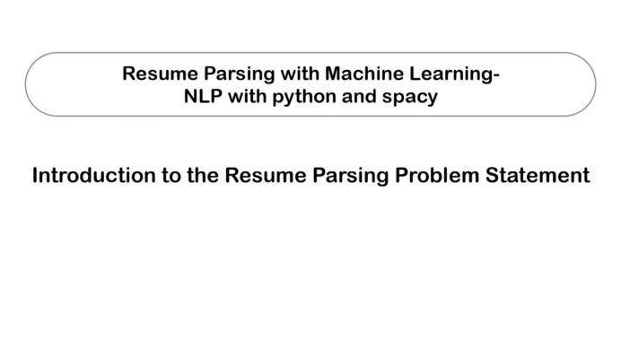 machine learning projects resume parsing using project controls examples best reddit Resume Resume Parsing Using Machine Learning