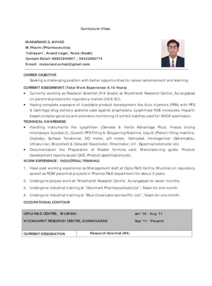 makarand resume training undergone title search experience cmt free word templates modern Resume Training Undergone Resume