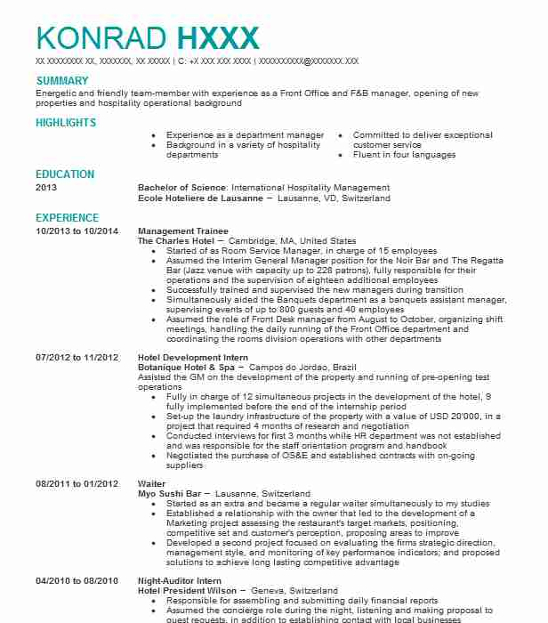 management trainee resume example enterprise rent car cyber security entry level for Resume Enterprise Management Trainee Resume Example