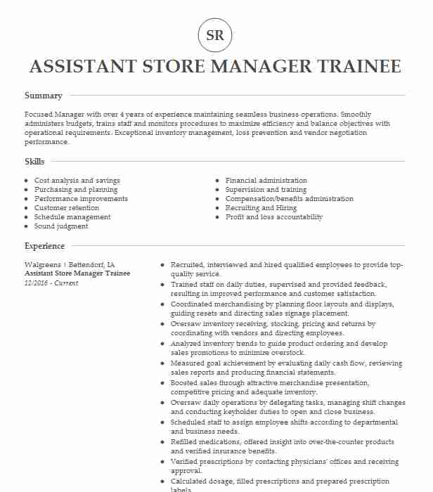 manager trainee store resume example aldi louisville sample for retail assistant j2ee Resume Sample Resume For Aldi Retail Assistant