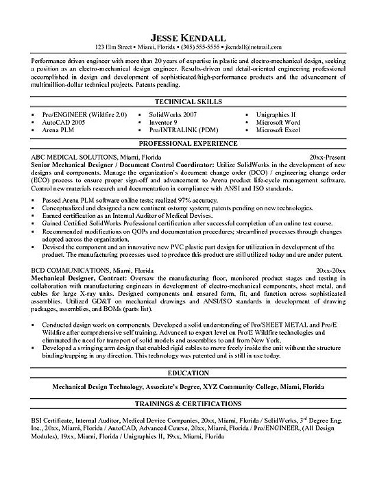 mechanical engineering resume example student examples entry level business samples Resume Mechanical Engineering Student Resume Examples