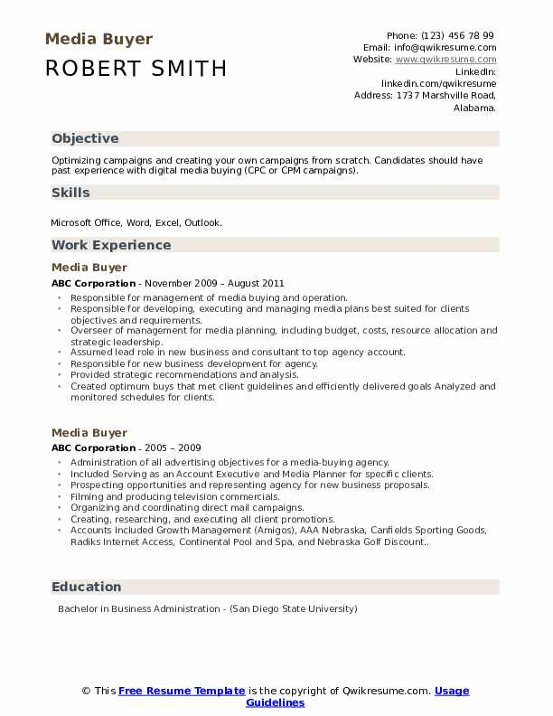 media buyer resume samples qwikresume examples pdf lead bartender should include photo on Resume Media Buyer Resume Examples