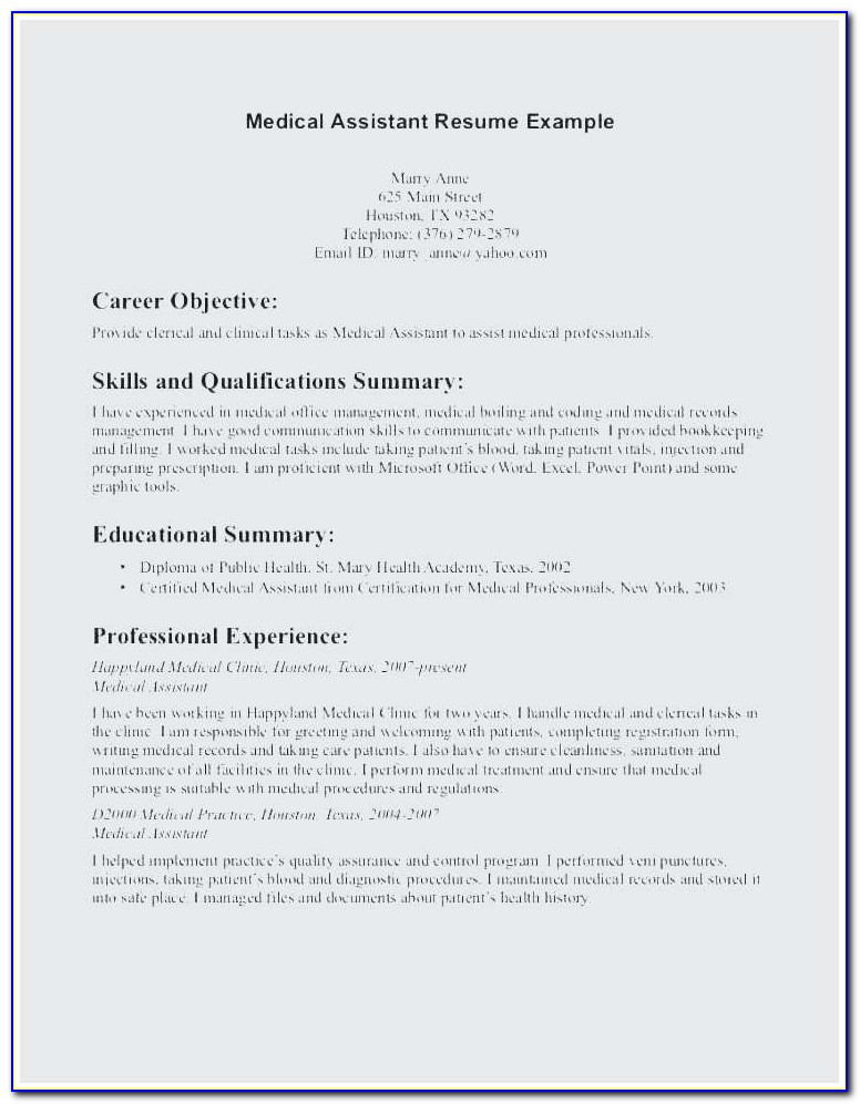 medical assistant sample resume entry level best example objectives scholarship Resume Scholarship Resume Objective