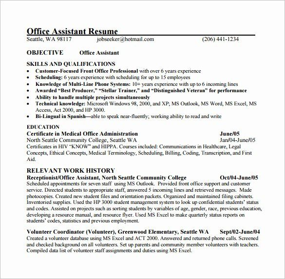 medical resume template microsoft word fresh assistant templates excel pd free for Resume Free Medical Resume Templates Microsoft Word