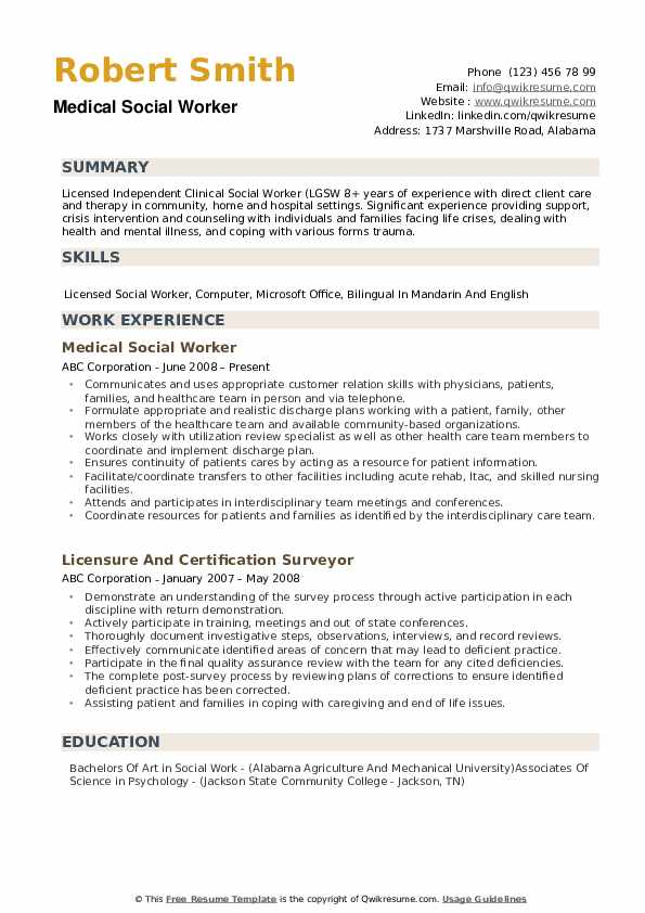 medical social worker resume samples qwikresume work templates free pdf traditional Resume Social Work Resume Templates Free