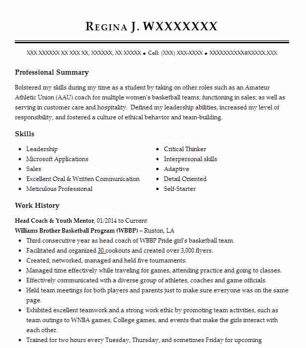 mentor and coach resume example girls on the run area san francisco job description for Resume Mentor Job Description For Resume