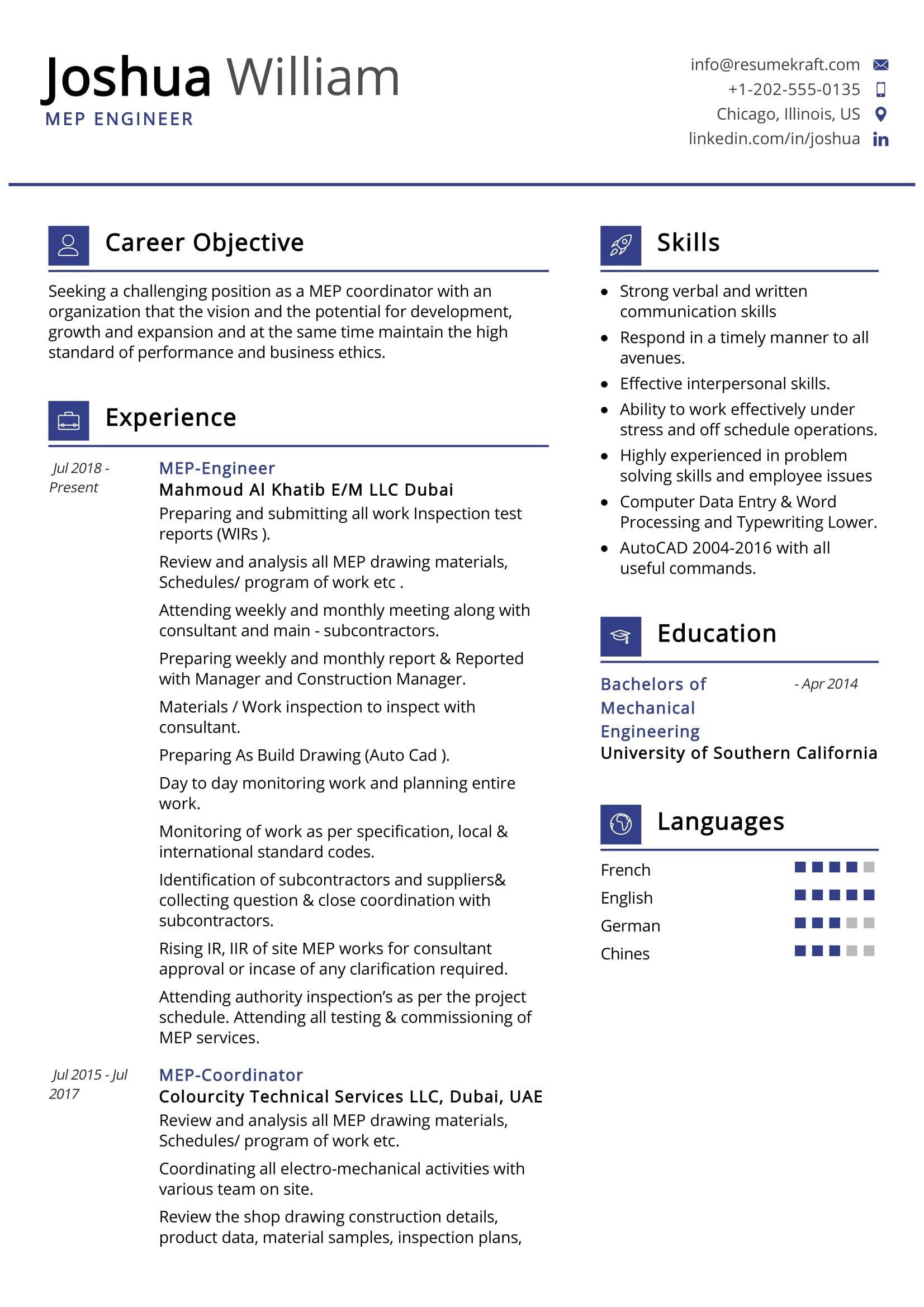 mep engineer resume sample resumekraft computer vision software skills post on monster Resume Computer Vision Engineer Resume