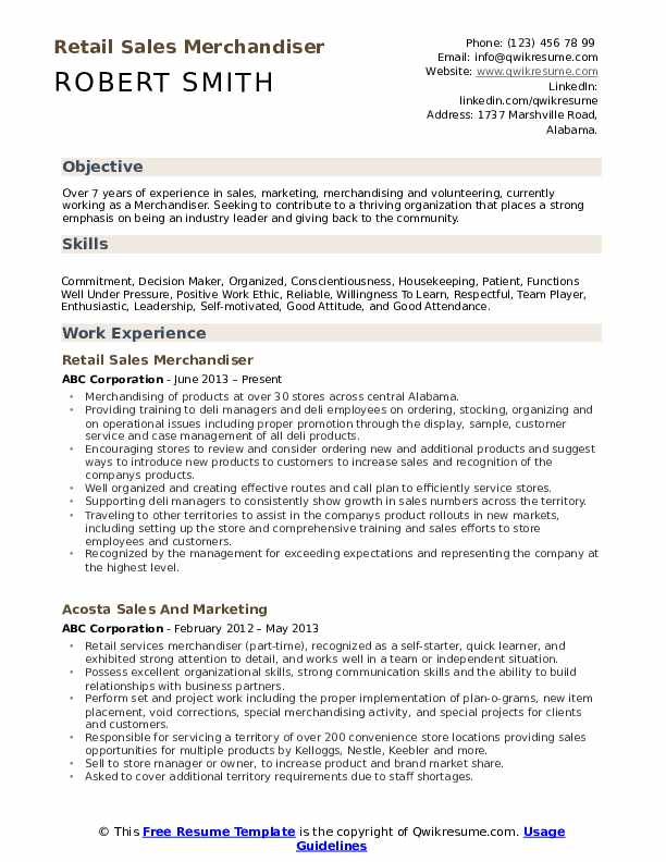 merchandiser resume samples qwikresume objective pdf example linkedin paragraph about Resume Merchandiser Resume Objective
