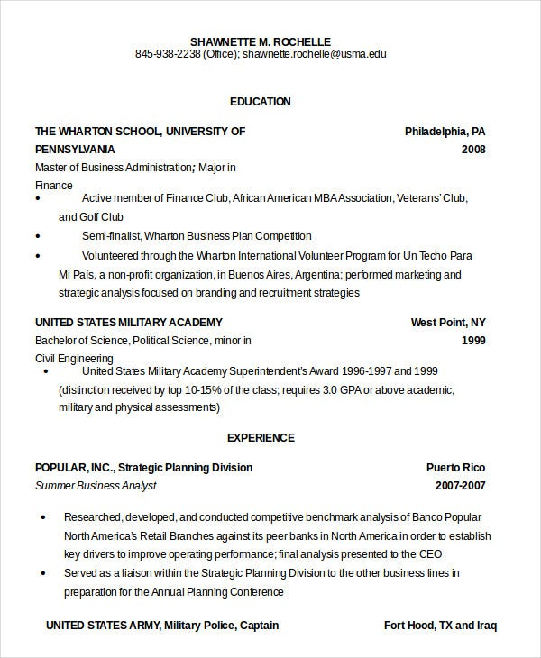 military resume free word pdf documents premium templates objective army acceptable Resume Military Resume Objective