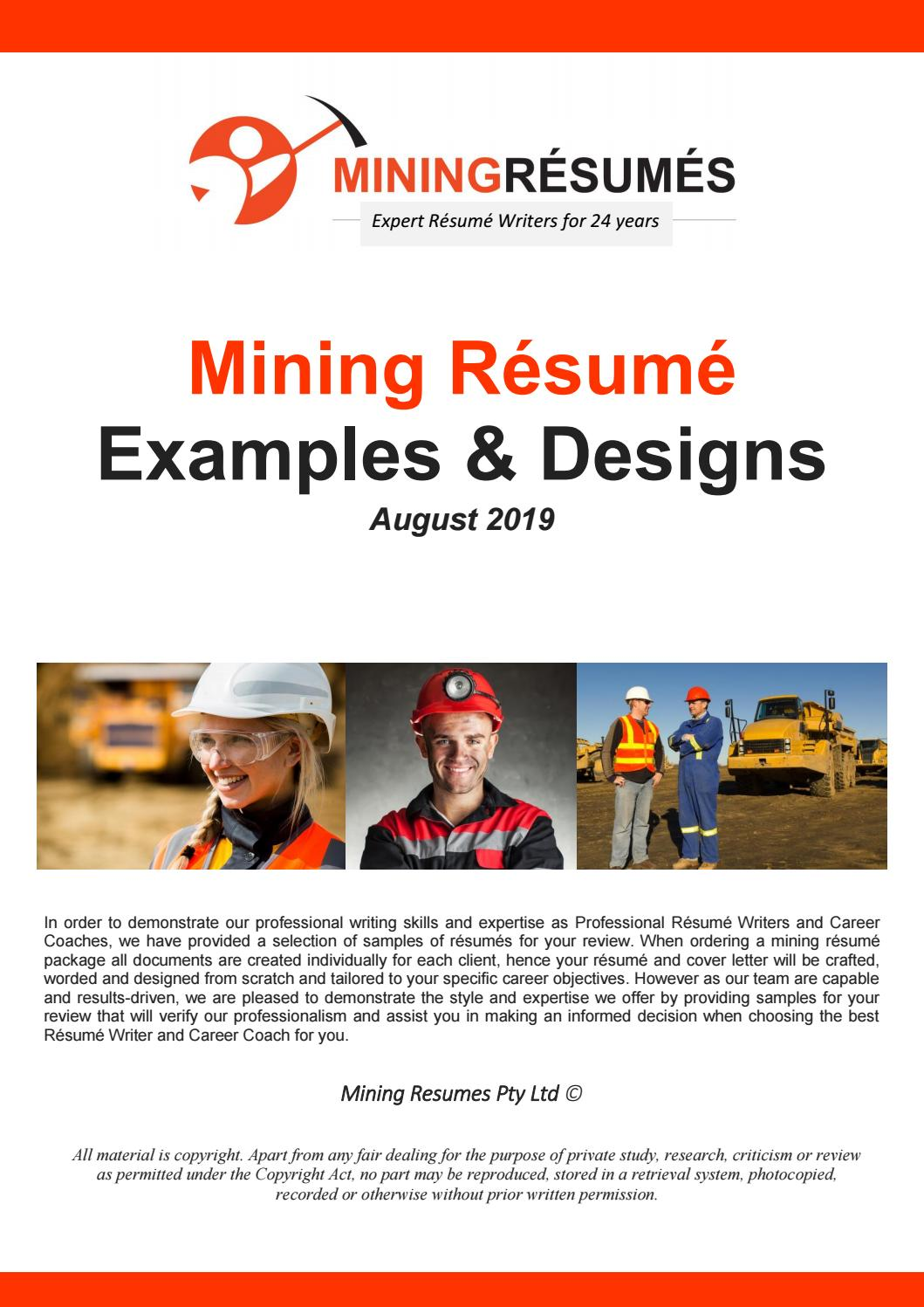 mining resume samples by issuu monique thompson accounting summary of qualifications Resume Monique Thompson Resume