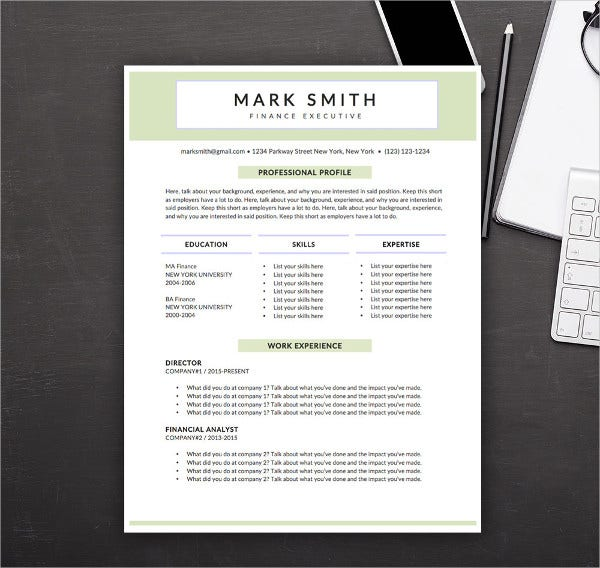 modern resume templates pdf free premium template examples executive sample bld meaning Resume Modern Resume Template Examples