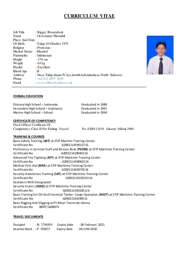 my cv for offshore roustabout resume model examples older workers farmers market lms Resume Roustabout Resume Model