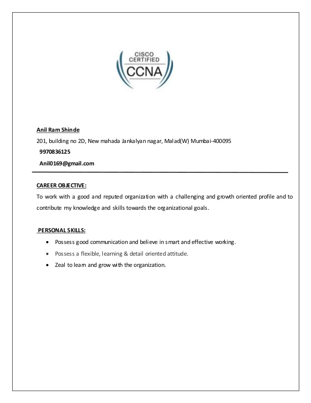 network engineer resume career objective for researcher sample college student Resume Career Objective For Network Engineer Resume