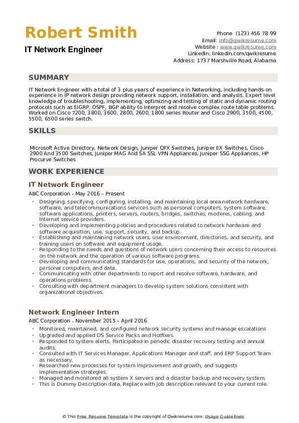 network engineer resume samples qwikresume cisco ise pdf warehouse clerk examples peace Resume Cisco Ise Engineer Resume