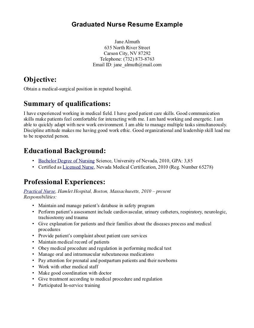 new grad rn resume sample eric food safety objective diesel mechanic examples calibration Resume Sample New Grad Rn Resume
