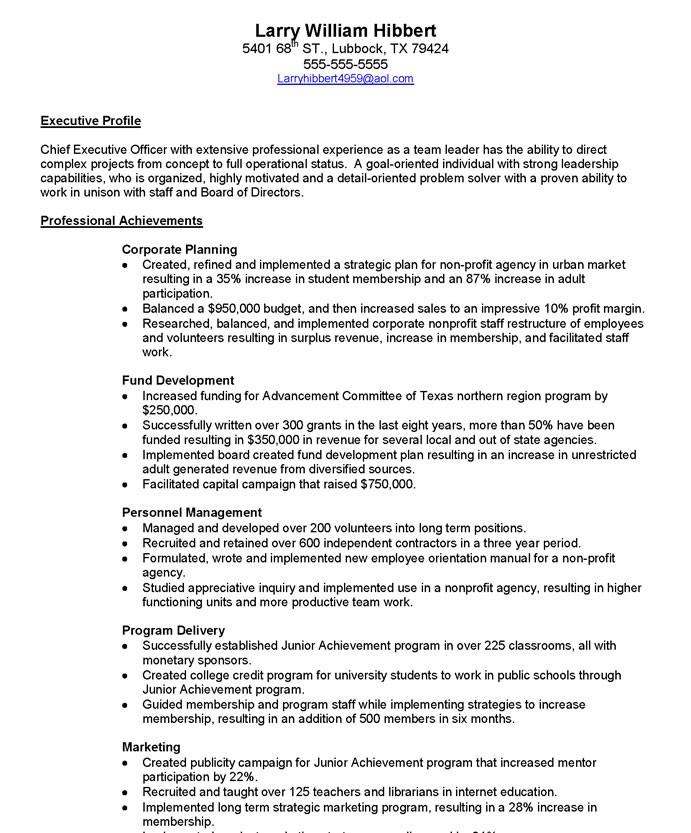 non profit executive free resume samples blue sky resumes nonprofit director 36before1 Resume Nonprofit Executive Director Resume