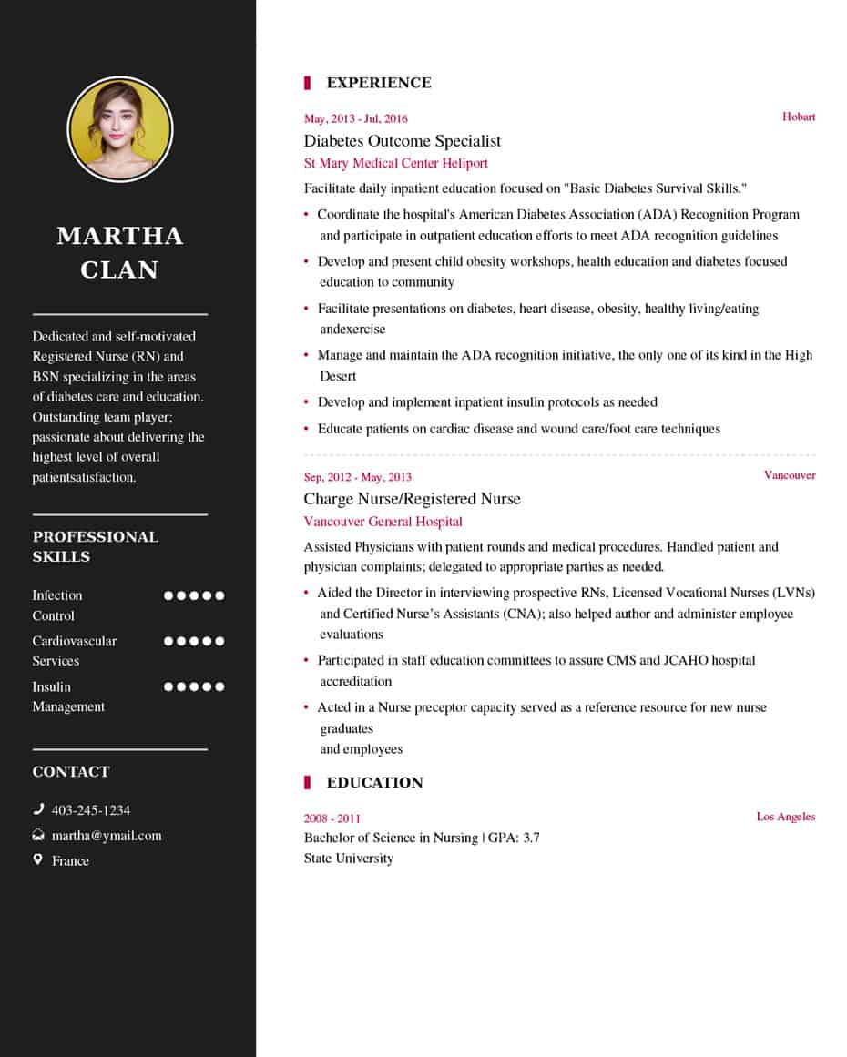 nurse resume sample latest example my format free builder examples best current education Resume Resume Builder Examples