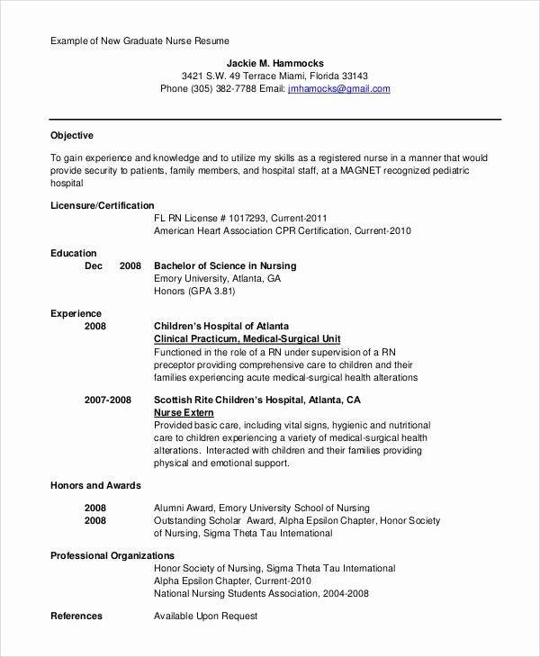 nursing resume objective statement examples awesome sample pdf new grad rn writing Resume New Grad Rn Resume Objective Statement