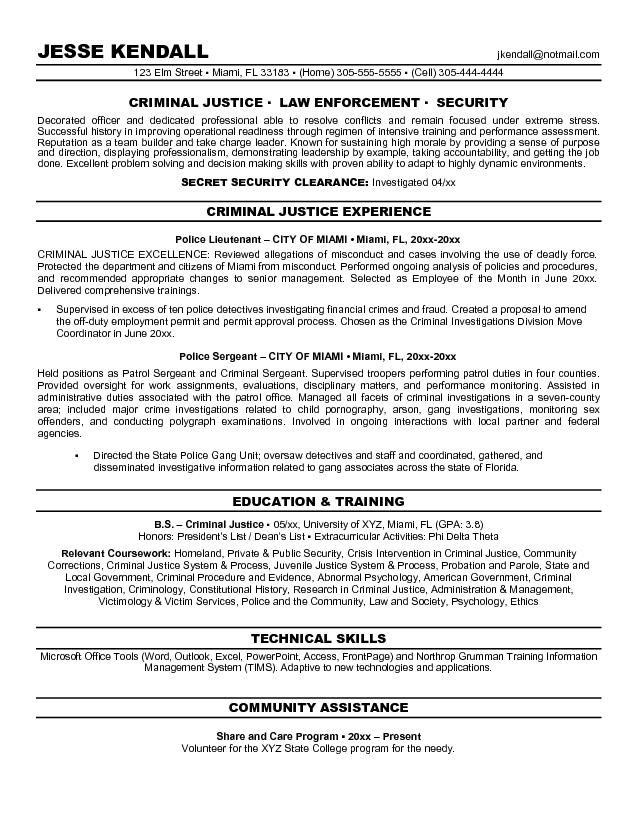 objective resume criminal justice free templates examples super company limited Resume Criminal Justice Resume Objective