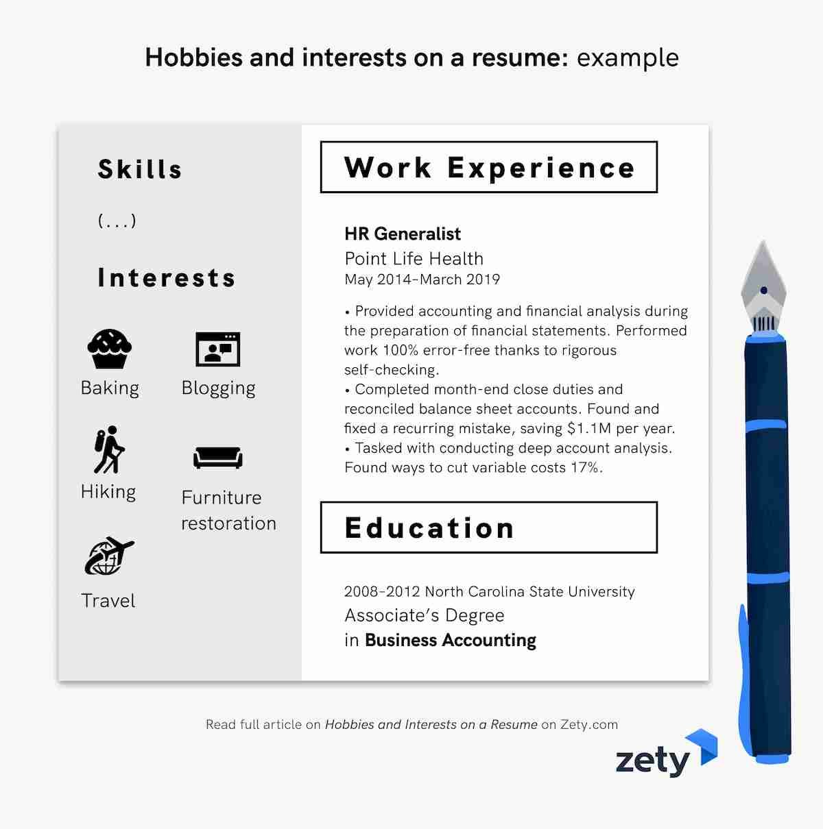 of hobbies and interests for resume cv examples that look good on example pharmacist Resume Hobbies That Look Good On A Resume