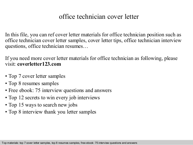 office technician cover letter resume field organizer example high school builder for Resume Office Technician Resume