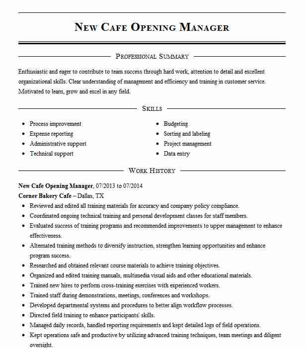 opening general manager resume example homewood suites folsom pre hotel experience Resume Pre Opening Hotel Experience Resume