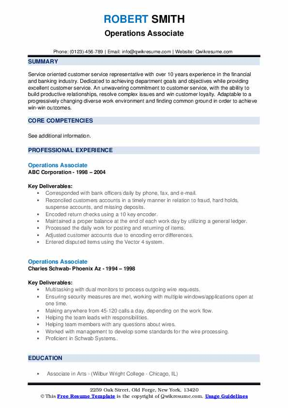 operations associate resume samples qwikresume business pdf education project manager Resume Business Operations Associate Resume