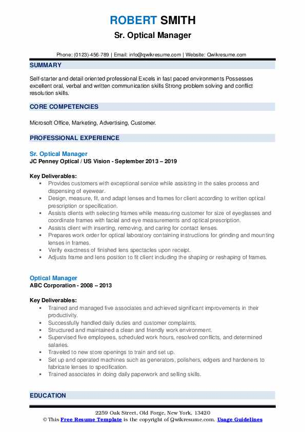 optical manager resume samples qwikresume dispensary pdf sketch template for different Resume Dispensary Manager Resume