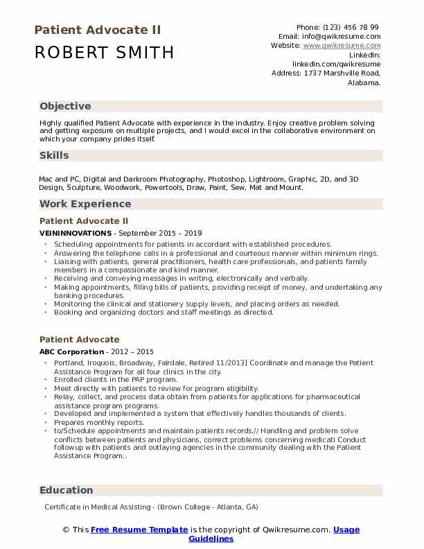 patient advocate resume samples qwikresume job description for pdf summary paragraph can Resume Patient Advocate Job Description For Resume