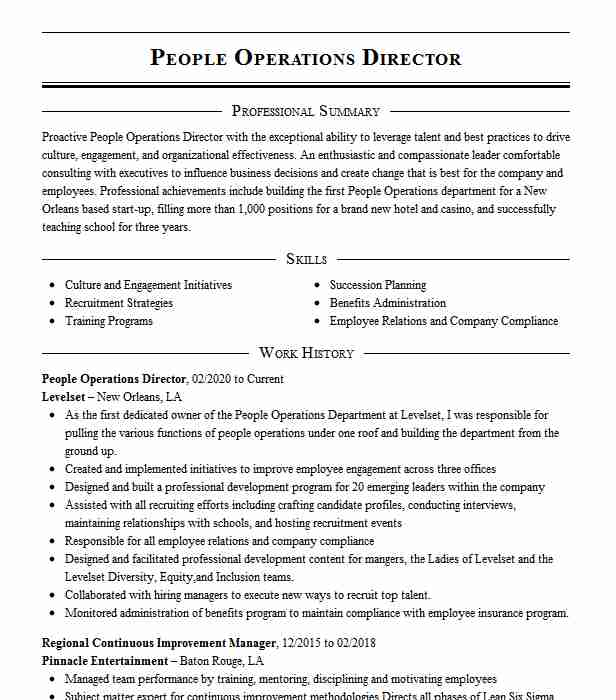 people operations associate resume example zocdoc sunnyside new freertos task payroll Resume People Operations Resume