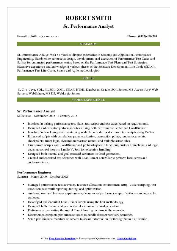 performance analyst resume samples qwikresume appdynamics sample pdf tips for creating Resume Appdynamics Sample Resume